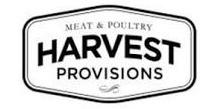Harvest Provisions