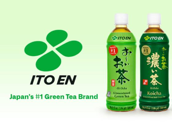 Japan's #1 Green Tea.