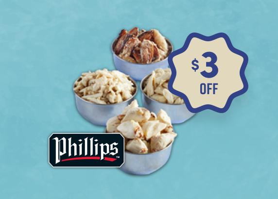 PHILLIPS FOODS CRAB MEAT