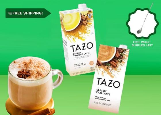 Be Your Own Barista With Tazo Latte Concentrates - small