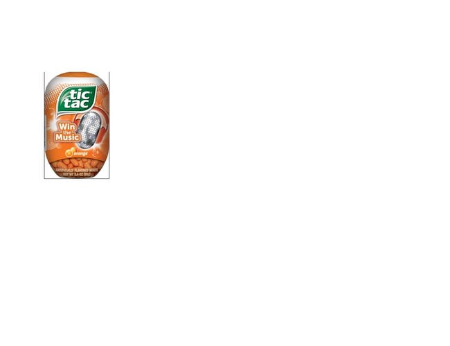 Tic Tac Mixed Flavors Candy, 3.4 Ounce Bottlepack -- 64 per case.
