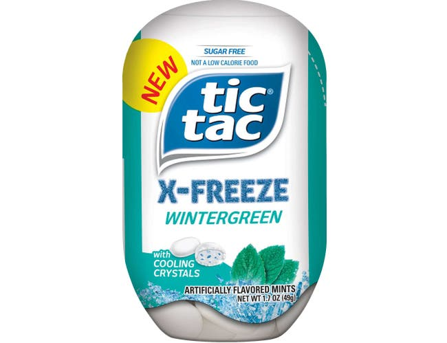 Tic Tac X Freeze Strong Mint and Wintergreen Mixed Mint - Sidekick -- 24 per case