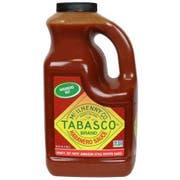Tabasco Habanero Pepper Sauce, 0.5 Gallon -- 1 each
