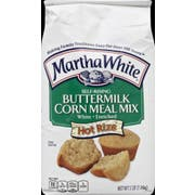 Martha White Buttermilk Self Rising Enriched White Corn Meal Mix, 5 Pound -- 8 per case.