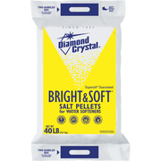 Cargill Salt Diamond Crystal Pellets with Softener Care Formula Salt, 40 Pound -- 1 each.