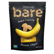 Bare Simply Baked Banana Chips, 2.7 Ounce -- 12 per case