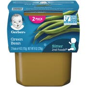 Gerber 2nd Foods Green Beans Baby Food, 8 Ounce -- 8 per case.
