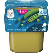 Gerber 2nd Foods Peas Baby Food, 8 Ounce -- 8 per case.