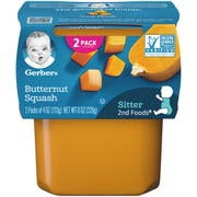 Gerber 2nd Foods Butternut Squash Baby Food, 8 Ounce -- 8 per case.