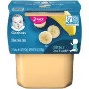 Gerber 2nd Foods Banana Baby Food, 8 Ounce -- 8 per case.