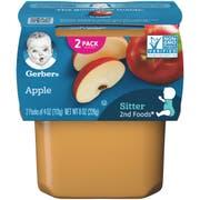 Gerber 2nd Foods Applesauce Baby Food, 8 Ounce -- 8 per case.