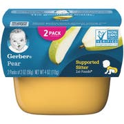 Gerber Pear 1st Food - Multi Pack, 4 Ounce -- 8 per case.