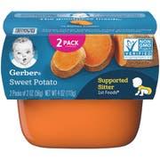 Gerber Sweet Potato 1st Food - Multi Pack, 4 Ounce Tub -- 8 per case.