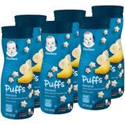 Gerber Puffs Banana Baby Snack, 1.48 Ounce -- 6 per case.