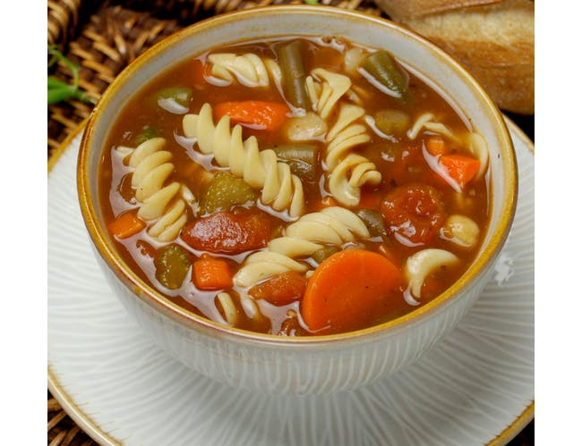 Taste Traditions Minestrone Soup - 8 lb. bag, 2 per case
