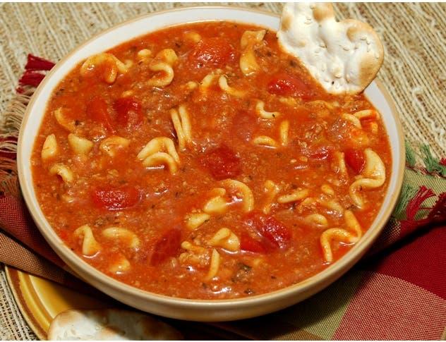 Taste Traditions Lasagna Soup - 8 lb. bag, 2 per case