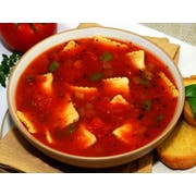 Taste Traditions Tomato Basil Ravioletti Soup - 8 lb. bag, 2 per case