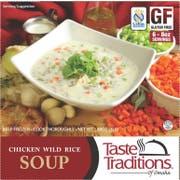 Taste Traditions Gluten Free Chicken with Wild Rice Soup, 3 Pound -- 6 per case.