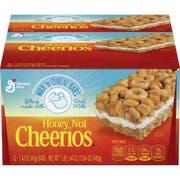 General Mills Milk N Honey Nut Cheerios Cereal Bar, 16.9 Oz.  -- 8 per case.