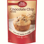 Betty Crocker Chocolate Chip Muffin Mix, 6.5 Ounce -- 9 per case.