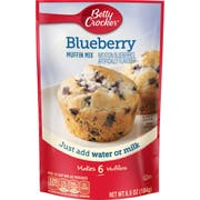 Betty Crocker Blueberry Muffin Mix, 6.5 Ounce -- 9 per case.