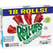 Betty Crocker Fruit Roll Ups Strawberry Craze Mini Roll, 6.6 Ounce -- 8 per case.