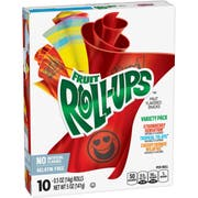 Fruit Roll-Ups Fruit Flavored Snack - Variety Pack, 5 Ounce -- 10 per case.