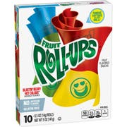Fruit Roll Ups - Blastin Berry Hot Colors, 5 Ounce -- 10 per case.