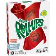 Fruit Roll Ups - Strawberry Sensation, 5 Ounce -- 10 per case.