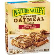 Nature Valley Cinnamon Brown Sugar Soft Baked Oatmeal Squares, 7.44 Ounce -- 8 per case.