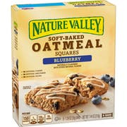 Nature Valley Blueberry Soft Baked Oatmeal Squares, 7.44 Ounce -- 8 per case.