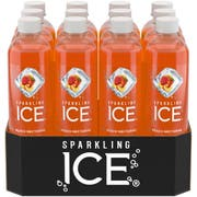 Sparkling Ice Peach Nectarine Beverage, 17 Fluid Ounce -- 12 per case.