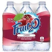 Kraft Fruit 2O Natural Cherry Beverage, 16 Ounce -- 24 per case