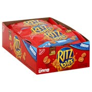 Kraft Ritz Bits Sandwich Cheese Cracker, 1 Ounce -- 48 per case.