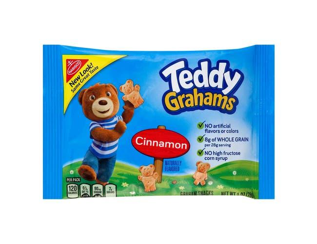 Teddy Grahams Cinnamon - 1 oz. bag, 48 per case