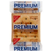 Premium Saltine Whole Grain Crackers, 0.24 Ounce -- 500 per case