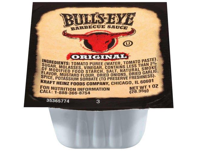 Bull's-Eye Original Barbecue Sauce, 1 Ounce -- 100 Count