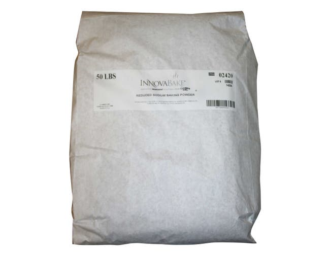 Innovafree Reduced Sodium Baking Powder, 50 Pound -- 1 each.