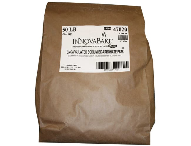 InnovaBake 75 Percent Encapsulated Sodium Bicarbonate, 50 Pound Box -- 1 each.