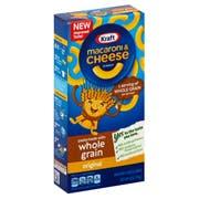 Kraft Whole Grain Mac N Cheese Dinner, 6 Ounce -- 12 per case.