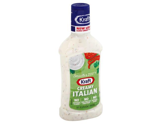 Creamy Italian Dressing In Plastic, 16 Ounce -- 6 Case