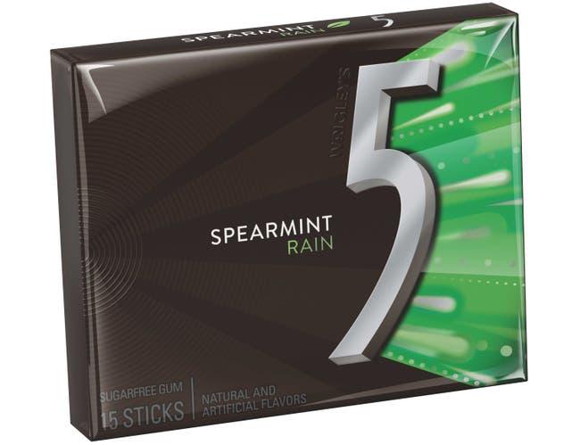 5 Gum Sugar Free Gum - Floor Display -- 150 per case