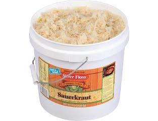 Silver Floss Krrrrisp Kraut Sauerkraut, 2 Gallon -- 1 each.