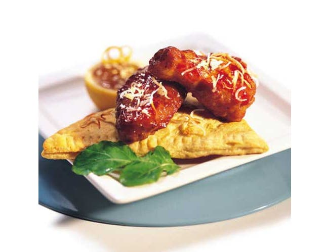 Tyson Glazed Honey Barbecue Chicken Wing, 10 Pound -- 1 each.