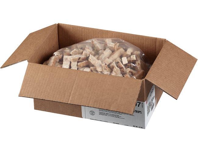 Tyson Heritage Valley Boneless/Skinless Chicken Strip, 5 Pound -- 2 per case.