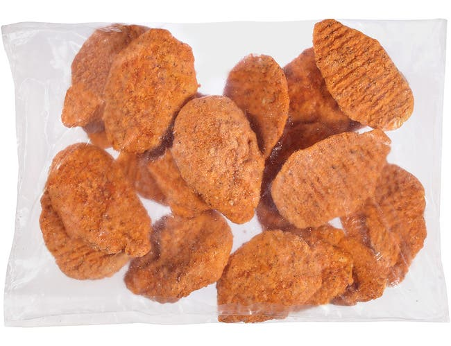 Tyson Red Label Select Cut Hot N Spicy Breaded Chicken Breast Portioned Filet, 4 Ounce -- 2 per case.
