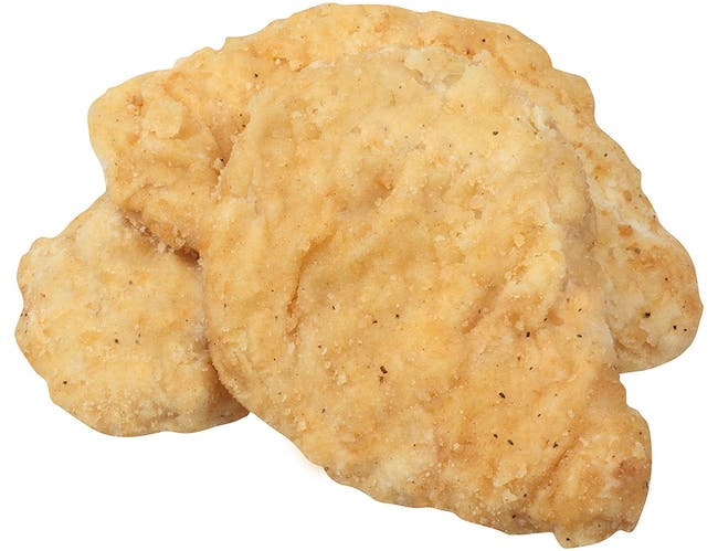 Tyson Red Label Select Cut Homestyle Breaded Chicken Breast Portioned Filet, 3.5 Ounce -- 2 per case.