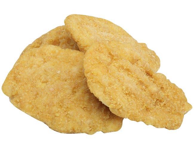 Tyson Red Label Select Cut Golden Crispy Breaded Chicken Breast Portioned Filet, 4 Ounce -- 2 per case.