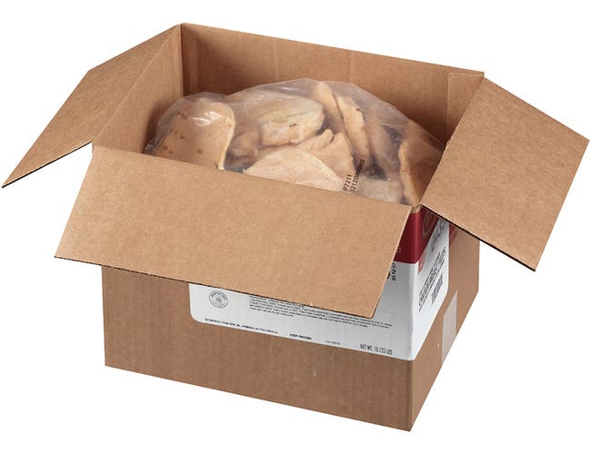 Tyson Natural Grilled Chicken Breast, 4.5 Ounce -- 36 per case.