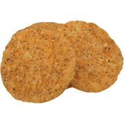 Tyson Fully Cooked Whole Grain Breast Patties, 5 Pound -- 2 per case
